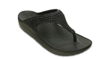 Crocs Womens Sloane Diamante Flip